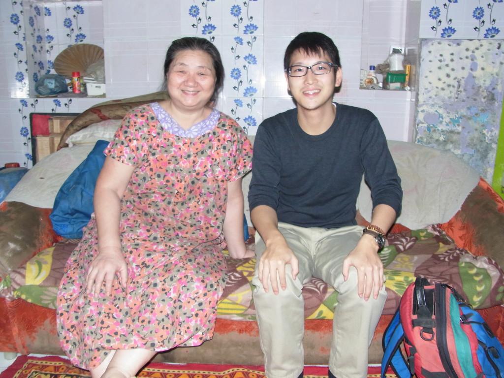 久美子さんと最後に記念撮影。