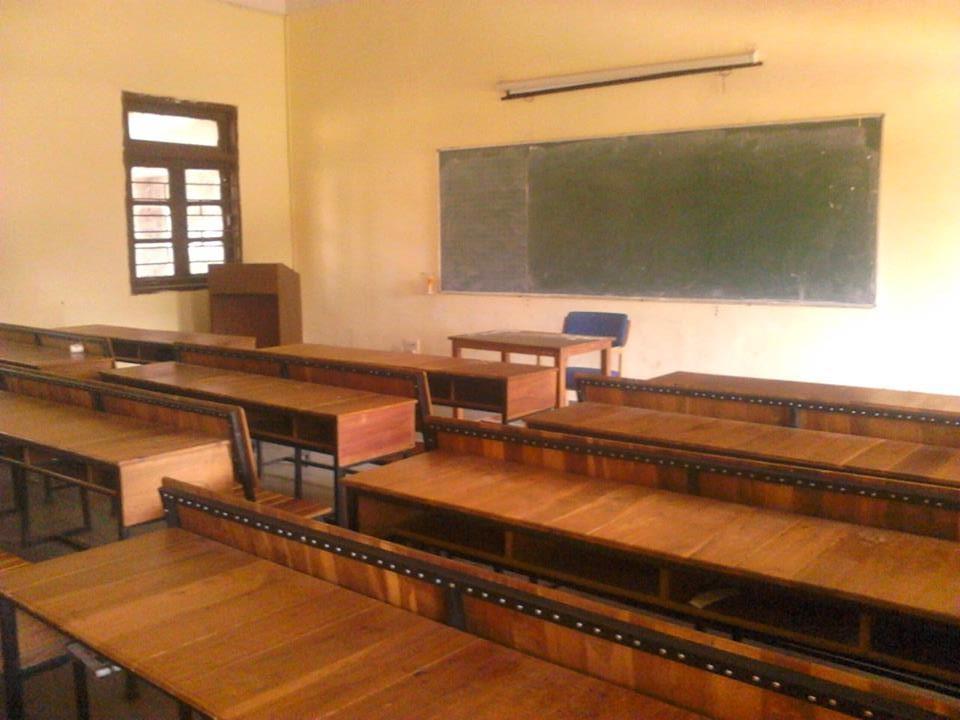教室の中の一枚